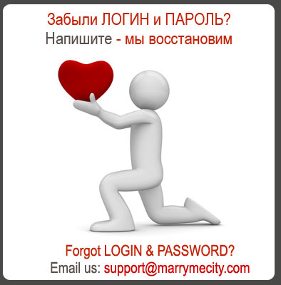 Forgot login and password in musim marriage site