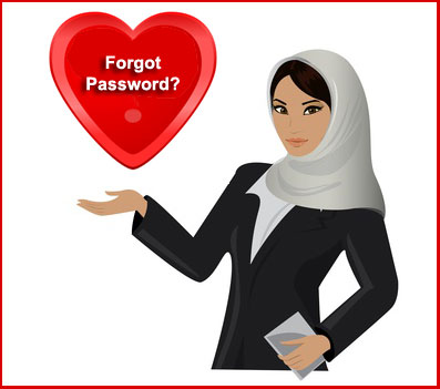 Single Muslim Marriage: forgot password