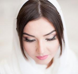 Beautiful Muslim modest girl