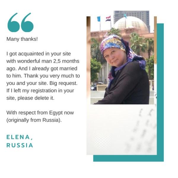 Find Muslim bride agency feedback