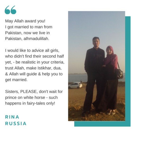 Muslim bride from Russia to Pakistan